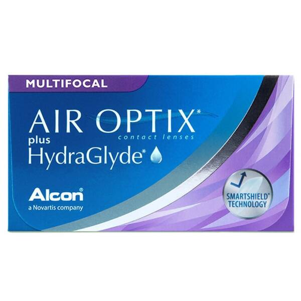 Air Optix plus HydraGlyde Multifocal 3er Box