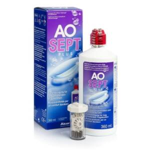 Aosept Plus mit Hydraglyde Peroxid-Pflegemittel 4x360ml