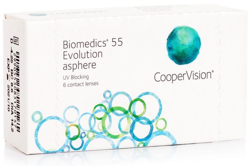 Biomedics 55 Evolution - 6er Box
