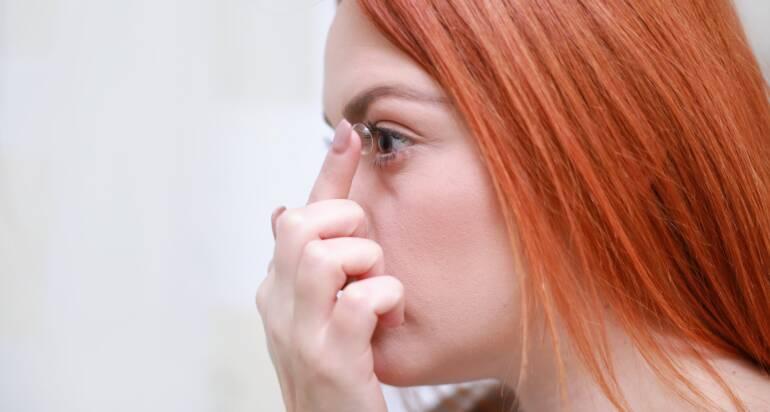 Die besten Kontaktlinsen für trockene Augen