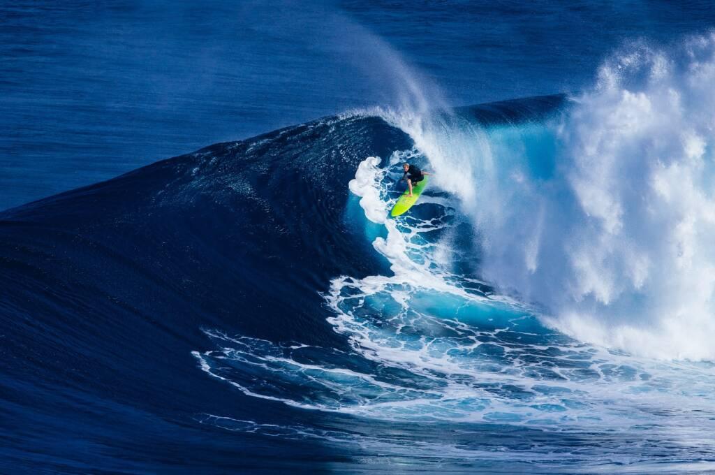 Surfen mit Kontaktlinsen